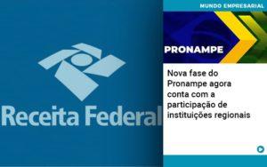 Nova Fase Do Pronampe Agora Conta Com A Participacao De Instituicoes Regionais - Contabilidade na Zona Leste - SP | Peluso & Associados