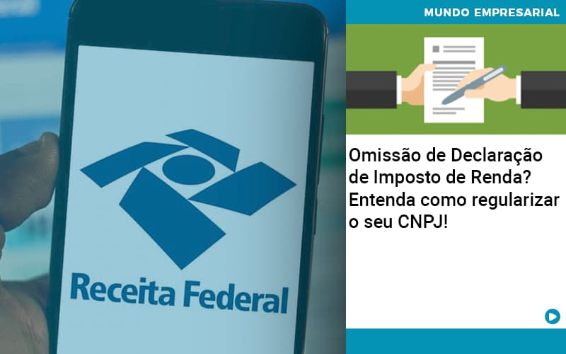 Omissao De Declaracao De Imposto De Renda Entenda Como Regularizar O Seu Cnpj - Contabilidade na Zona Leste - SP | Peluso & Associados